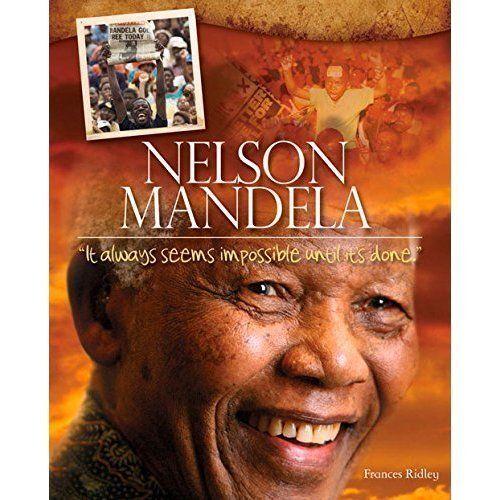 1 of 1 - Nelson Mandela by Frances Ridley (Paperback, 2014) (NF12)