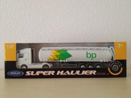camión BP escala 1:87 H0 marca WELLY totalmente nuevo