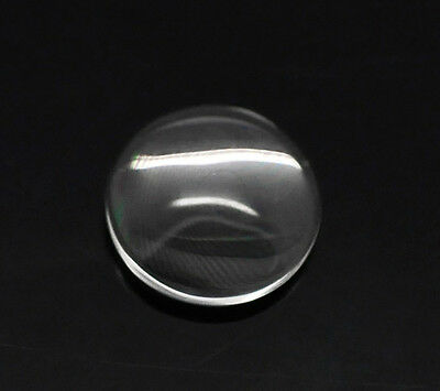 Clear Round Glass Dome Seals M0287