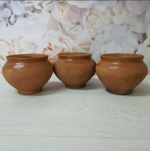 Vintage Ceramic Pot Old Clay Pots Painted Pottery Pot with Lid Clay Bowl Rustic Kitchen Serving Serving Dishes