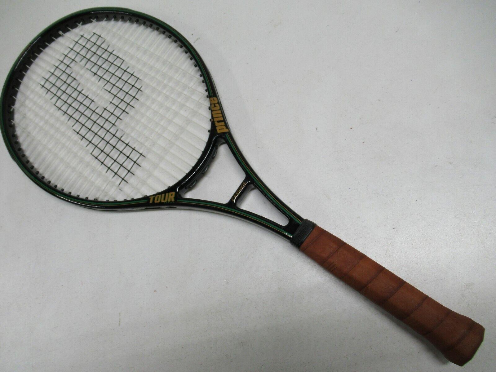 Prince Clásico Grafito 107  tour  tenis raqueta (4 3 8) Distribuidor Demo de menta