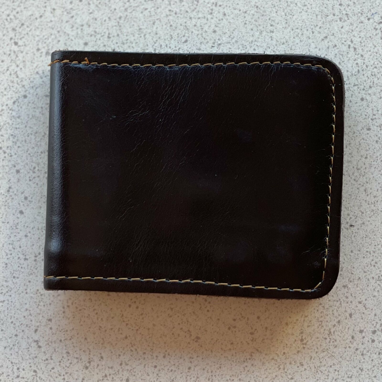 Hand Crafted Buffalo Leather Wallet - Brown