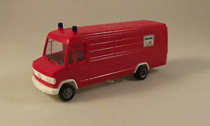Mercedes-Benz 609 D  Pompiers - Herpa - HO