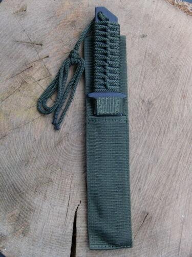 Scheide 44494 Jagdmesser Gürtelmesser Arbeitsmesser Fahrtenmesser Oliv