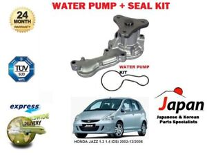 For Honda Jazz 12 14 Idsi 2002 122008 New Water Pump