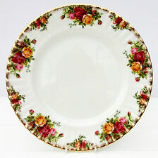 Vintage Royal Albert Old Country Roses Bone China Floral Dinner Plate