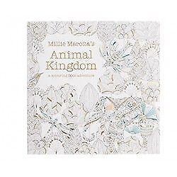 Image Is Loading Millie Marotta 039 S Animal Kingdom A Colouring
