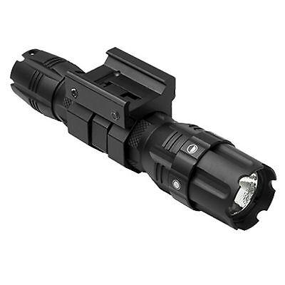 NcSTAR VISM VATFLBGM Black Pro Series Green LED Hunter Flashlight w/ Rail Mount