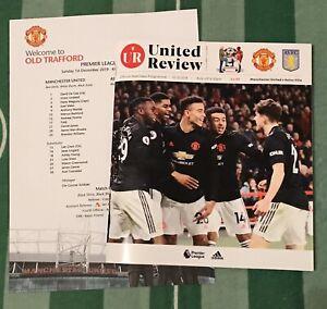 Manchester-United-v-Aston-Villa-19-20-Premier-League-Programme-amp-Team-Sheet