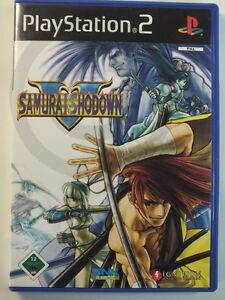 Playstation-PS2-JUEGO-SAMURAI-SHODOWN-V-5-USADO-PERO-BUENO