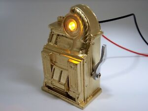 Pinball-Twilight-Zone-maquina-tragaperras-Oro-Pinball-Flipper-Mod