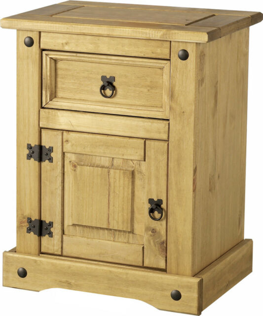 MEXICAN PINE CORONA BEDROOM FURNITURE WARDROBE, DRAWERS. FREE NEXT DAY DELIVERY