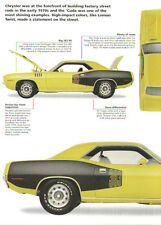 1971 Plymouth Barracuda 'Cuda Article - Must See !!