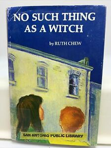 No Such Thing As a Witch Hardcover w/ DJ 1980 Children's RUTH CHEW