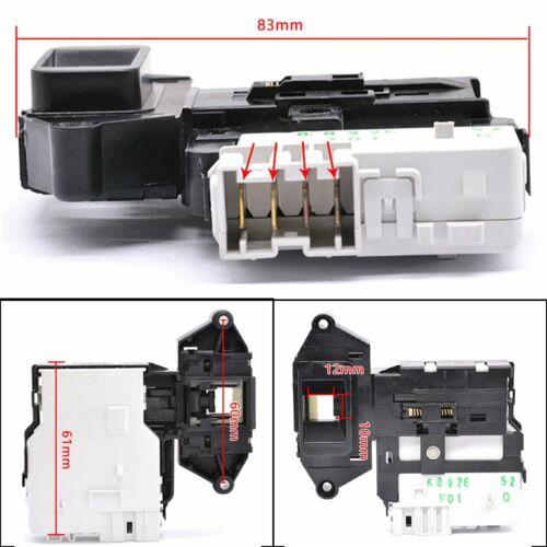 Serrure De Porte Verrouillage Commutateur Pièces de rechange pour LG 6601ER1004C machine à laver Sèche-linge