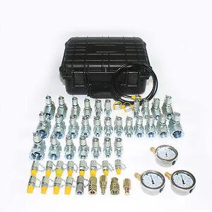 XZTK-60 combo excavator Hydraulic Pressure Tester for caterpiller komatsu ETC
