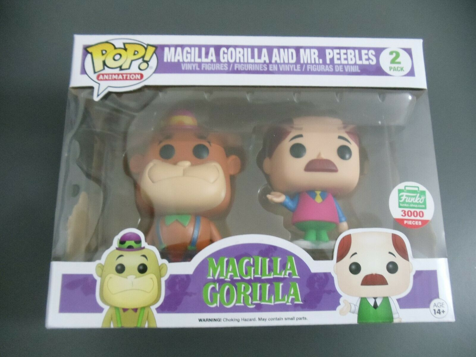FUNKO POP MAGILLA GORILLA AND MR PEEBLES FUNKO SHOP EXCLUSIVE 3000 piece