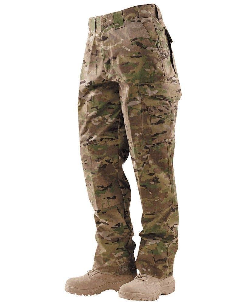 MULTICAM TRU-SPEC 24 7 Tactical Pants 28-38W 30-36 Length RipStop Cotton Blend