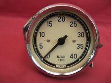 Vdo Mechanical Tachometer 4000 Rpm Dated 363