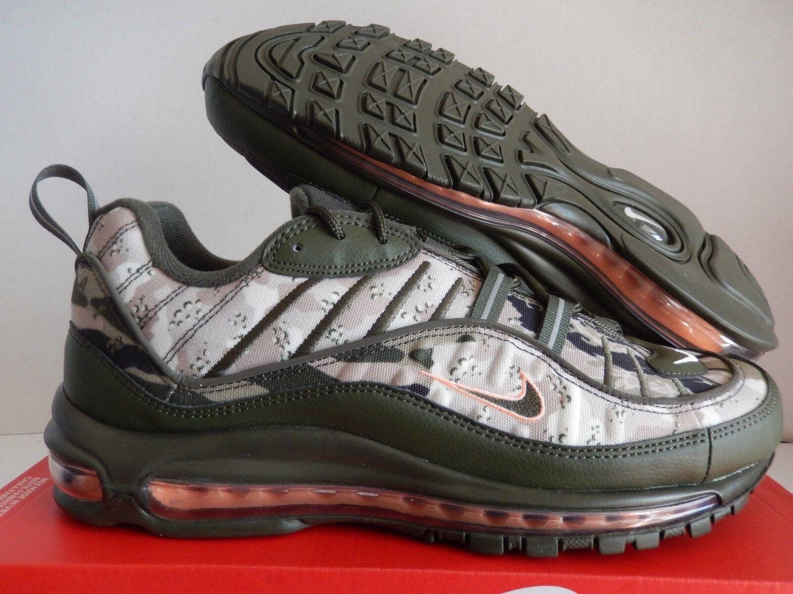 Nike Air Max 98 TinteNegro camuflaje CARGO KHAKISunset TinteNegro 98 [AQ6156300] 97ec90