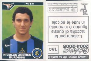 CALCIATORI-PANINI-2004-05-Figurina-sticker-N-154-NEW
