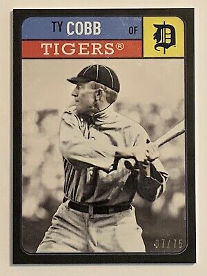 2019 Topps Series 1 Iconic Card Reprints #ICR-1 Ty Cobb Detroit Tigers T206