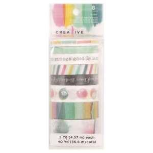 American Crafts 8 Roll Washi Tape 4 Creative Devotion