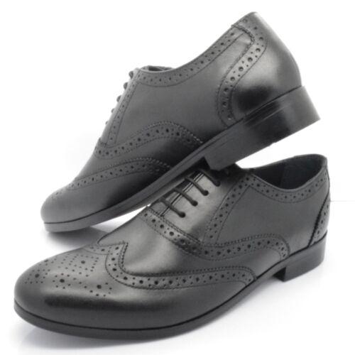 Uk À 11 m s Noir Homme À 1260 Lacets Chaussures Nouveau Ex Tailles Lacets Cuir 7 En qA4RRS