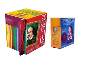 Shakespeare-Childrens-Stories-20-Books-Set-with-20-Audio-CDs-Collection-Pack