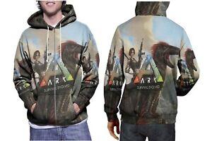 Longsleeve Hoodie Ark Survival Men's For Evolved wx7q4Yz0Z4