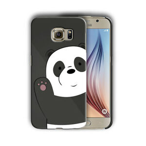 low priced ee9fc 46bc8 Details about We Bare Bears Samsung Galaxy S4 5 6 7 8 9 10 E Edge Note 3 4  5 8 9 Plus Case 06