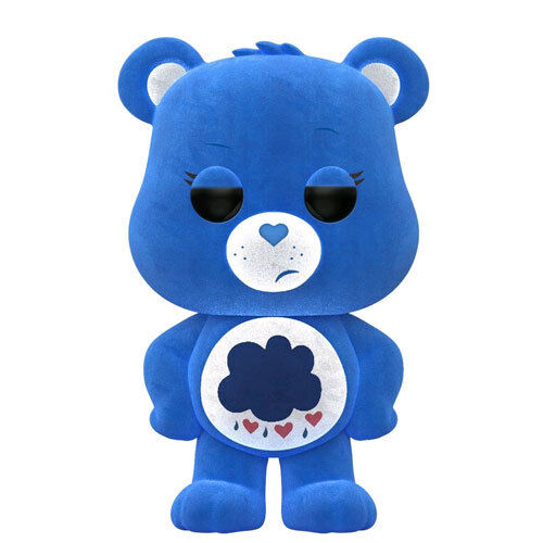 Vinyl Figure NEW Funko 29169 Care Bears Grumpy Bear Flocked US Exclusive Pop