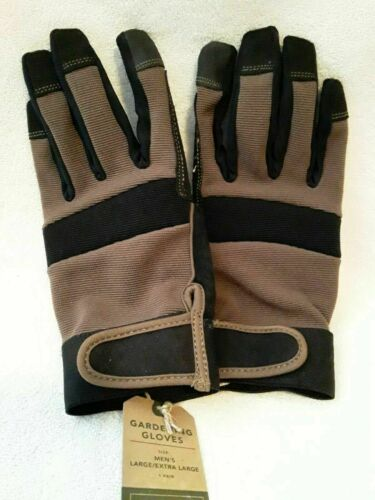New Smith /& Hawken Women/'s Small//Medium Black Brown Gardening Gloves