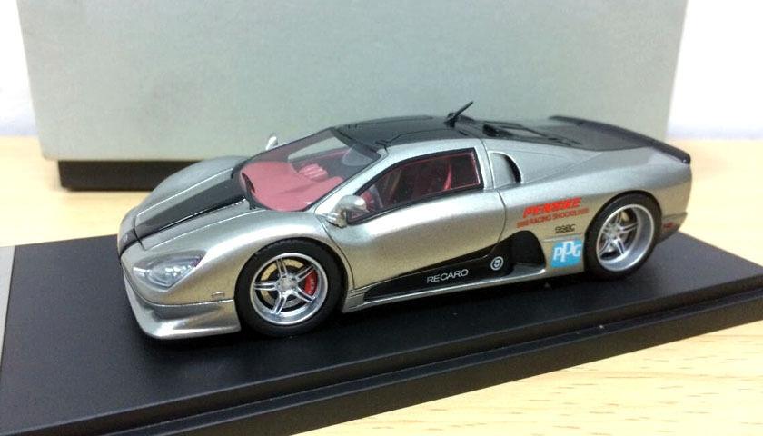 SSC Ultimate Aero 420KM H Super Sport Sport Sport Car 1 43 scale die-cast Modelo de Plata a0fa51