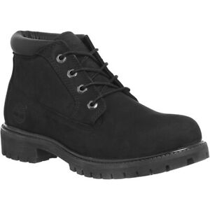 Details zu Timberland Icon Waterproof Chukka Black Mens Boots