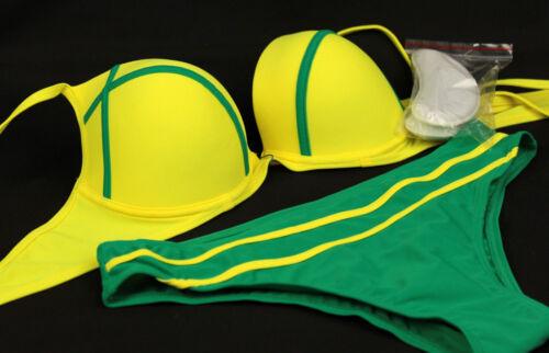 Bademode Bikini-Set Push-Up Cup C D  75 80 85 90 95 Slip Gr M L XL 2XL  //z2000.