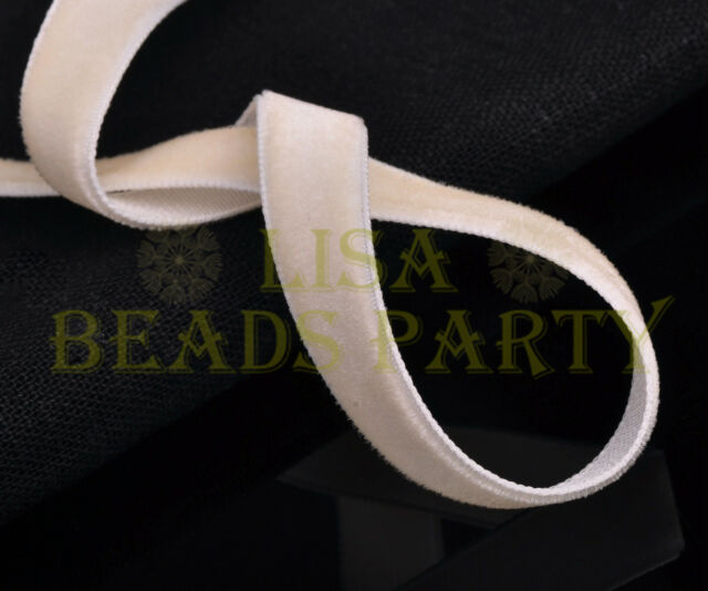 "New 10yards 3/8"" 10mm Velvet Ribbon Bows Wedding Party Decoration Sew Lt Apriopt"