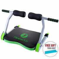 Abdominal Exercise Machine Total Workout Fitness W/ Yoga Mat