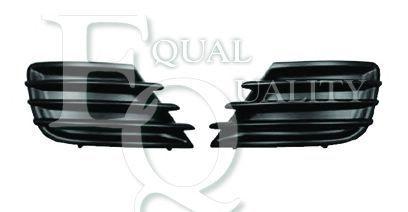 G1807 EQUAL QUALITY Griglia di ventilazione Paraurti anteriore Sx PEUGEOT 207