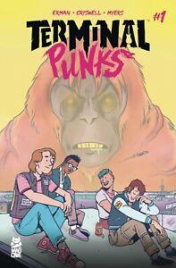 Terminal-Punks-1-Cover-A-NM-1st-Print-Mad-Cave-Studios-Comics