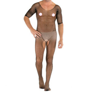 Sous-vetements-Gay-Bodystockings-Body-Resille-Hommes-Sexy-Sissy-Crystal