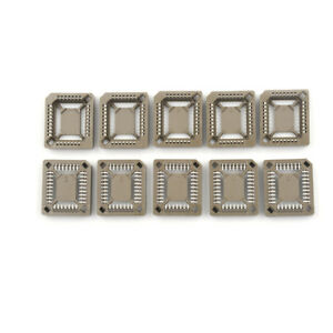 10X New PLCC32 32 Pin 32Pin SMD IC Socket Adapter PLCC Converter