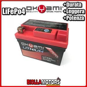 E07350 BATTERIA LITIO OKYAMI YTX5L-BS LiFePo4 LITX5L YTX5LBS MOTO SCOOTER QUAD C