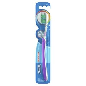 Oral-B All Rounder Fresh Clean Soft Manual Toothbrush 1pk