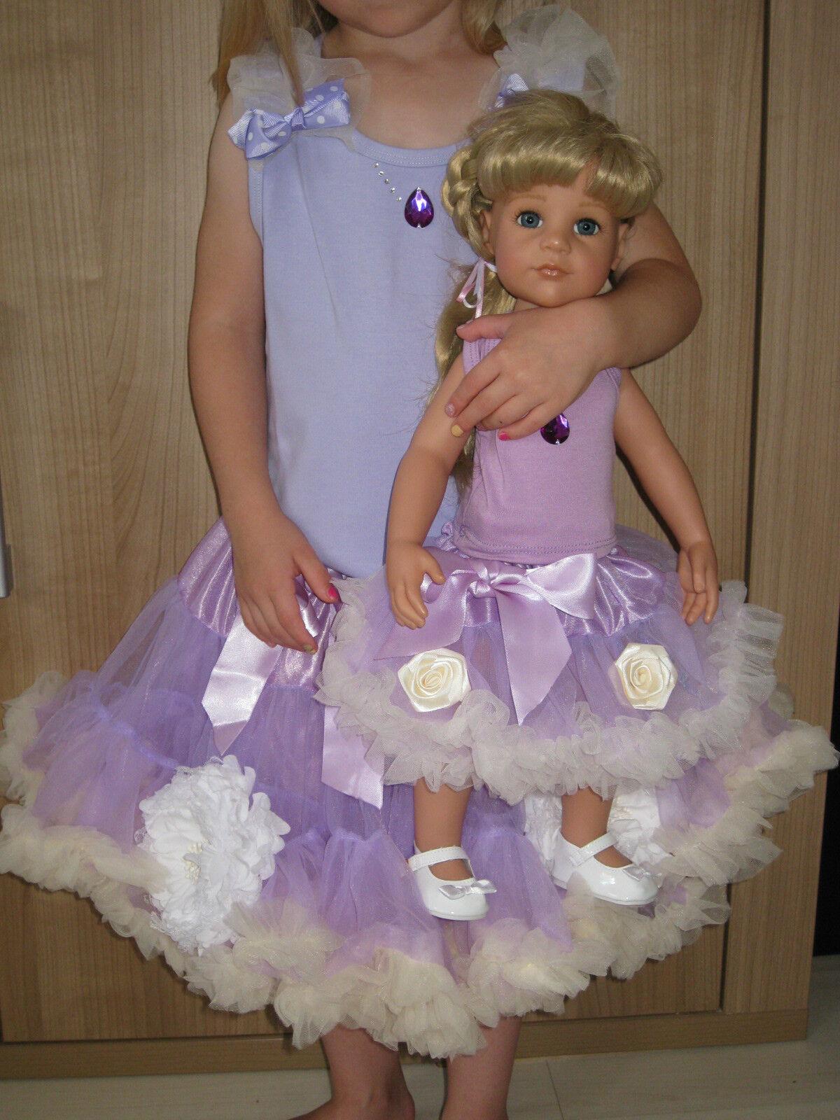 Bambole-Set + Ragazze-Set, 46-50cm BAMBOLA, gr 122, 5-7 J., vestiti bambole