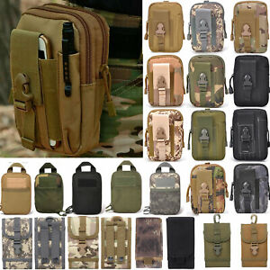 3990847a1e7e Tactical Waist Pack Belt Bag Camping Outdoor Hiking Military Molle ...
