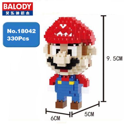 Balody 18042 Game Klempner Red Micro Diamond Mini Building Kind Blocks Toy