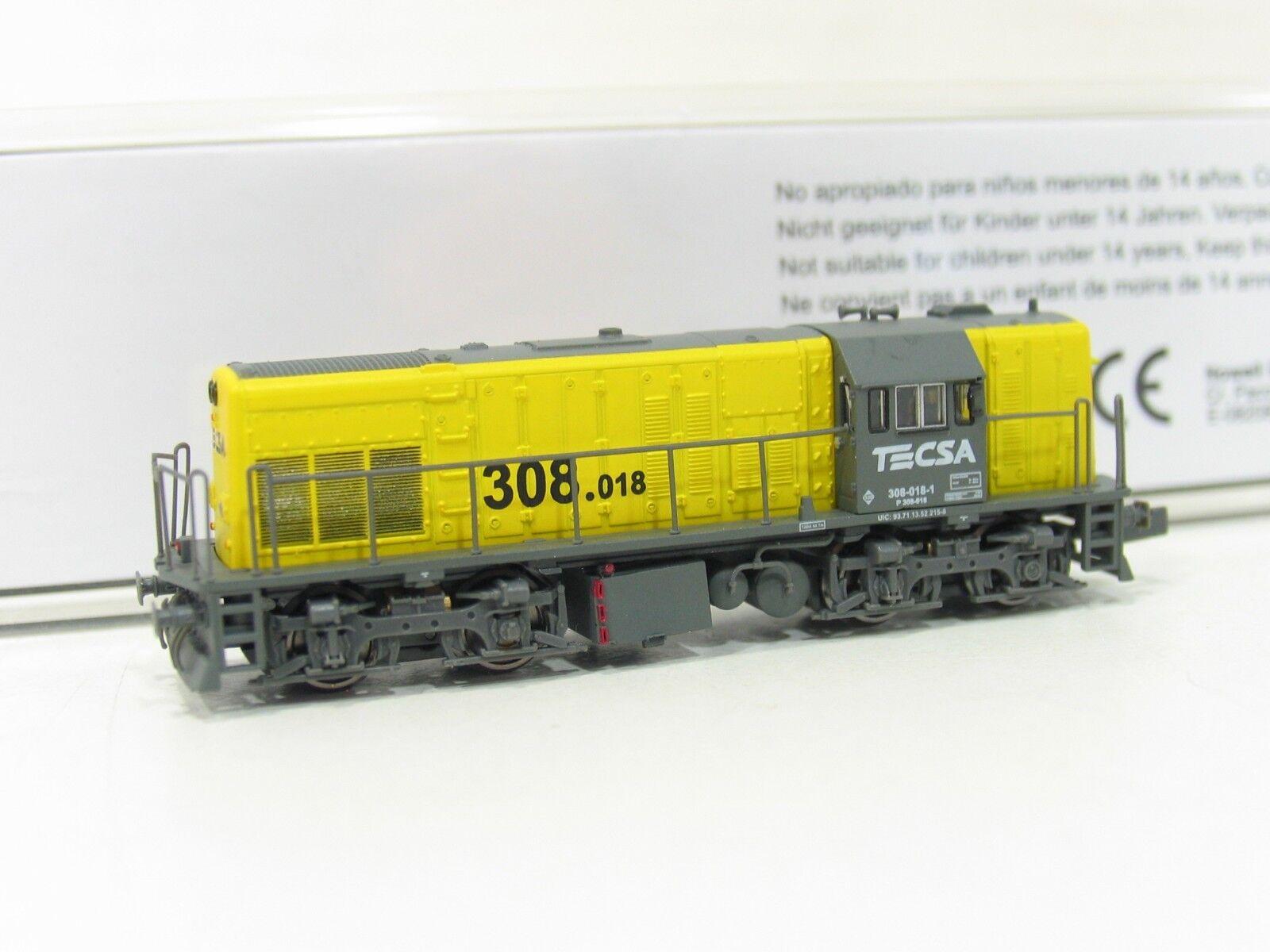 Start Rain 60917 Diesellok tecsa 308 Yellow Grey the RENFE sp1110