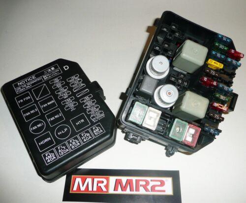 Toyota MR2 MK2 UK-Front Sicherungskasten /& Relais Mr MR2 Gebrauchte Teile 89-99