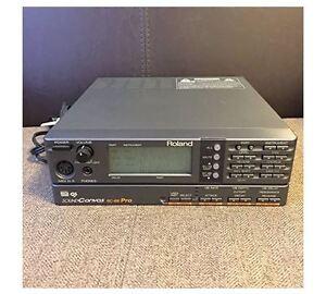 roland sc 88pro sc88 sound canvas midi synthesizer sound module w tracking f s ebay. Black Bedroom Furniture Sets. Home Design Ideas